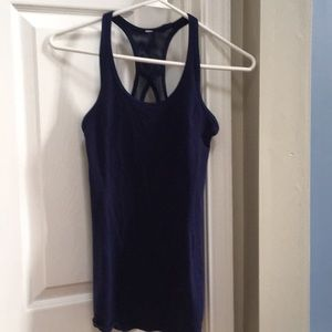 Lululemon Navy blue tank top